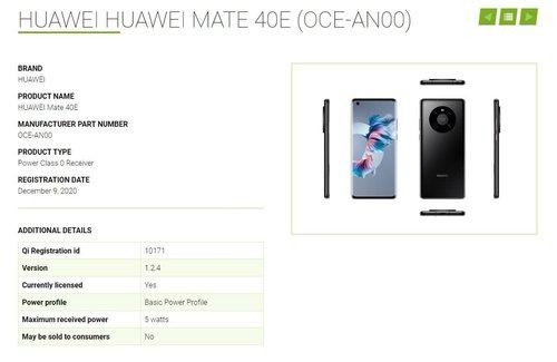 Huawei Mate 40 E/ fot. Huawei Central