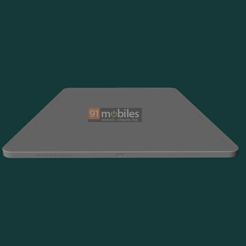 iPad Pro 2021 rendery cad/ fot. 91mobiles