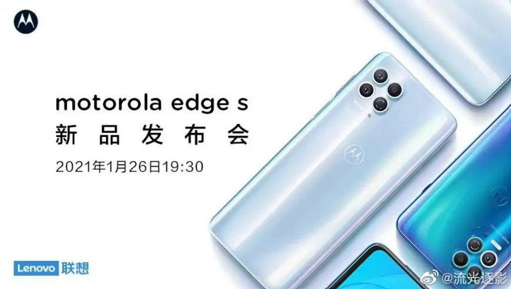 Motorola Edge S/ fot. producenta