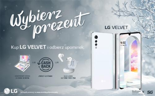 Promocja na LG Velvet. Moc prezentów do wyboru!