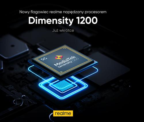 Realme X9 Pro zadebiutuje z MediaTekiem Dimsensity 1200/fot. realme
