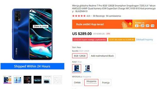 Realme 7 Pro w doskonałej cenie