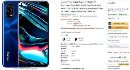 Realme 7 Pro kupisz dzisiaj na hiszpańskim Amazonie w fajnej cenie