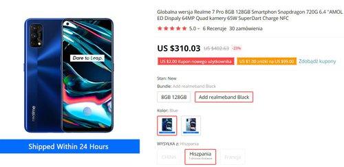 Realme 7 Pro w świetnej cenie z fajnym bonusem