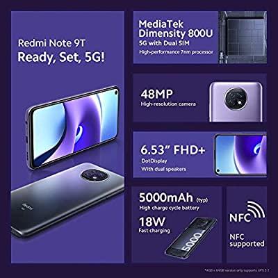 Specyfikacja Xiaomi Redmi Note 9T 5G / fot. Abhishek Yadav @yabhishekhd