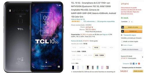 TCL 10 5G to bardzo ciekawa alternatywa dla Xiaomi za około 1000 złotych