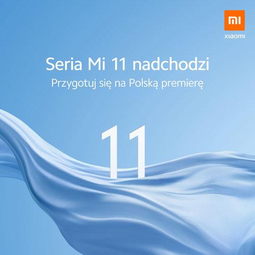 Zapowiedź polskiej premiery Xiaomi Mi 11 / fot. Xiaomi Polska
