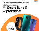 Promocja: Xiaomi Mi Smart Band 5 GRATIS do niemal KAŻDEGO smartfona Mi i Redmi!