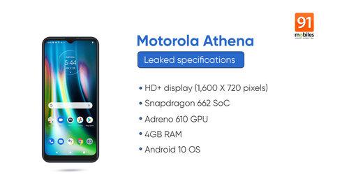 Motorola Athena/ fot. 91mobiles