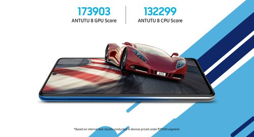 Samsung Galaxy F62 / fot. producenta