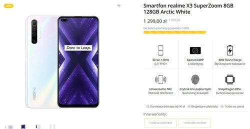 Promocyjna cena realme X3 SuperZoom w oficjalnym sklpepie producenta