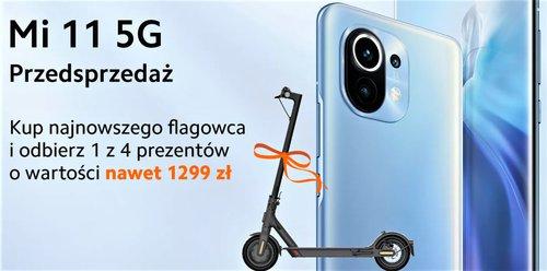 Przedsprzedaż Xiaomi Mi 11 w Polsce została okraszona świetnymi prezentami