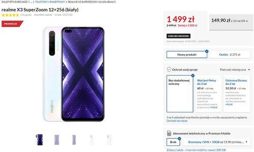 Promocyjna cena realme X3 SuperZoom w RTV Euro AGD