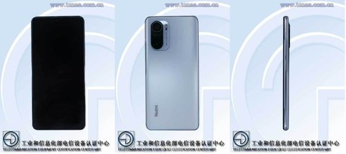 Xiaomi Redmi K40/ fot. TENAA; Digital Chat Station