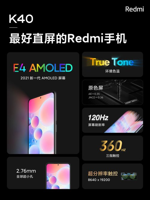Redmi K40 / fot. Xiaomi