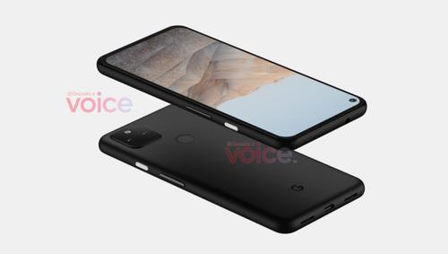 Google Pixel 5a/fot. OnLeaks via Voice