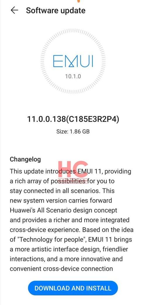 EMUI 11 trafiło na Huawei Mate 20 (Pro) / fot. Huawei Central