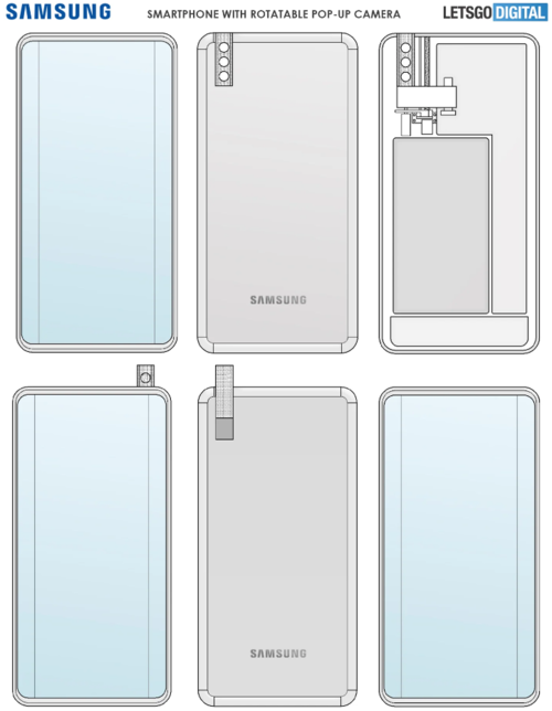 Samsung patent/ fot. LetsGoDigital
