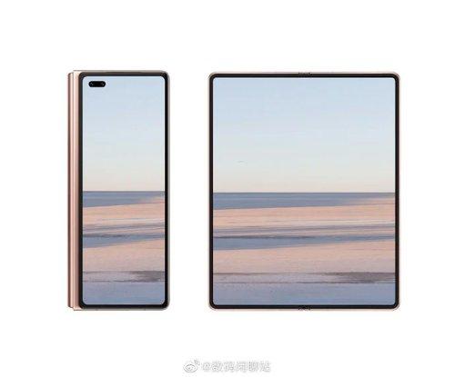 Huawei Mate X2/ fot. weibo DigitalChatStation