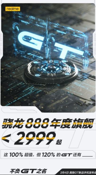Realme GT 5G będzie kosztował 1700 złotych/fot. Realme