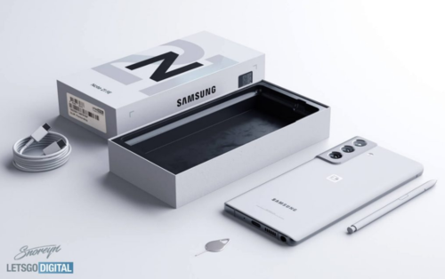Samsung Galaxy Note 21 FE/ fot. LetsGoDigital