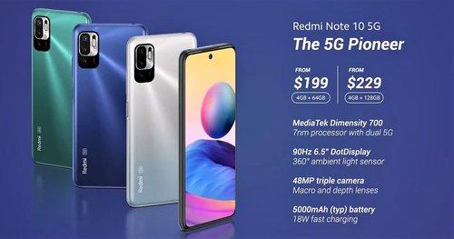 Cena Xiaomi Redmi Note 10 5G / fot. producenta