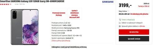 Samsung Galaxy S20/ fot. Media Markt