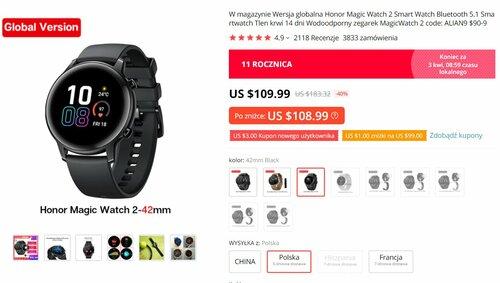 popularny smartwatch