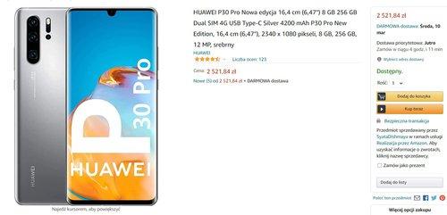 Huawei P30 Pro New Edition w fajnej cenie