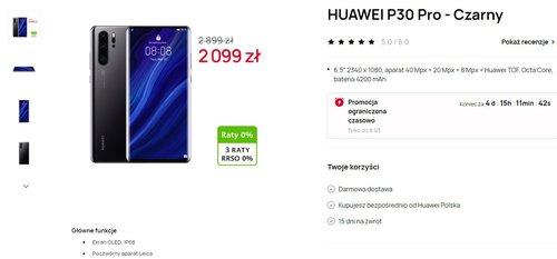 Huawei P30 Pro za 1999 złotych