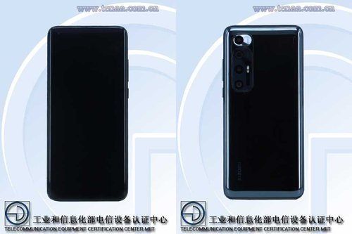 Xiaomi Mi 10 nowa edycja/ fot TENAA