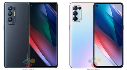 Oppo Find X3 Neo (po lewej) i Find X3 Lite (po prawej)/fot. Winfuture