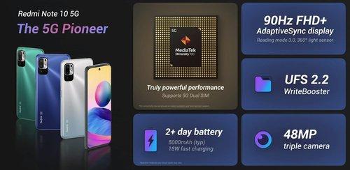 Xiaomi Redmi Note 10 5G / fot. producenta