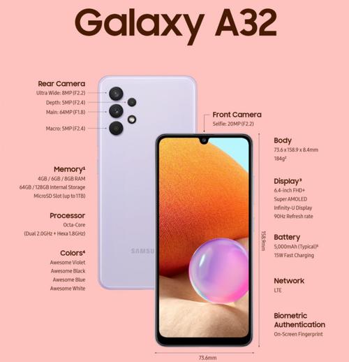 Samsung Galaxy A32 to idealna odpowiedź na telefony Redmi i Realme