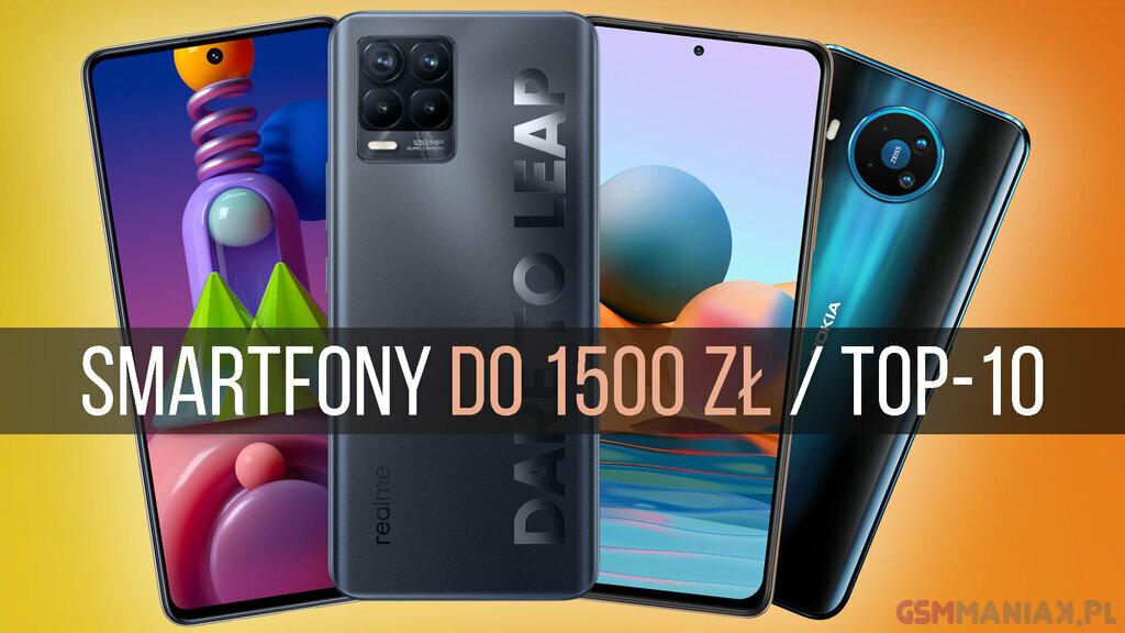 smartfon do 1500 2021