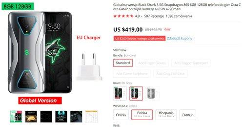 Xiaomi Black Shark 3 to nadal świetny zakup w 2021 roku