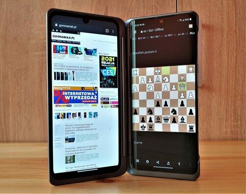 LG Velvet i Dual Screen