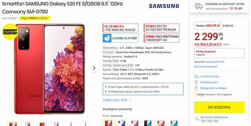 Samsung Galaxy S20 FE 4G (G780G)