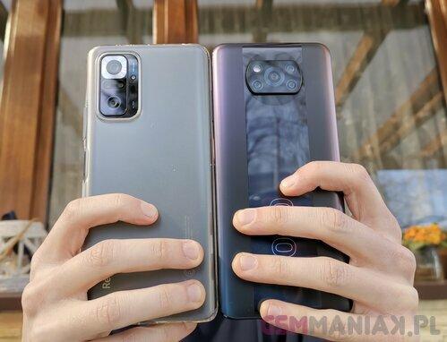 Redmi Note 10 Pro czy POCO X3 Pro / fot. gsmmaniak.pl