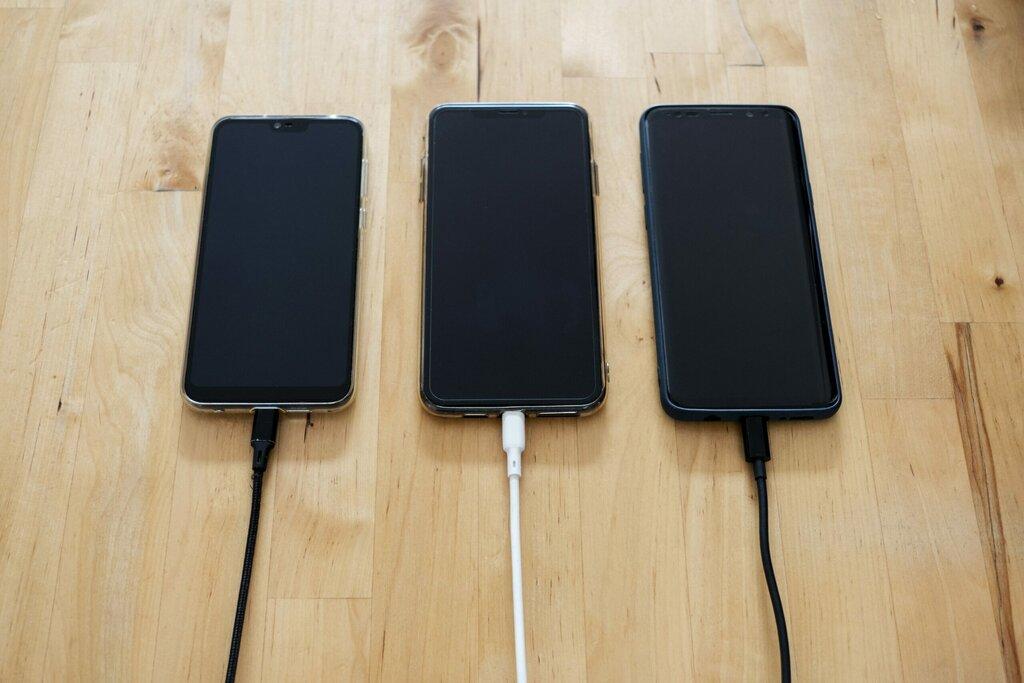baterie ładowanie