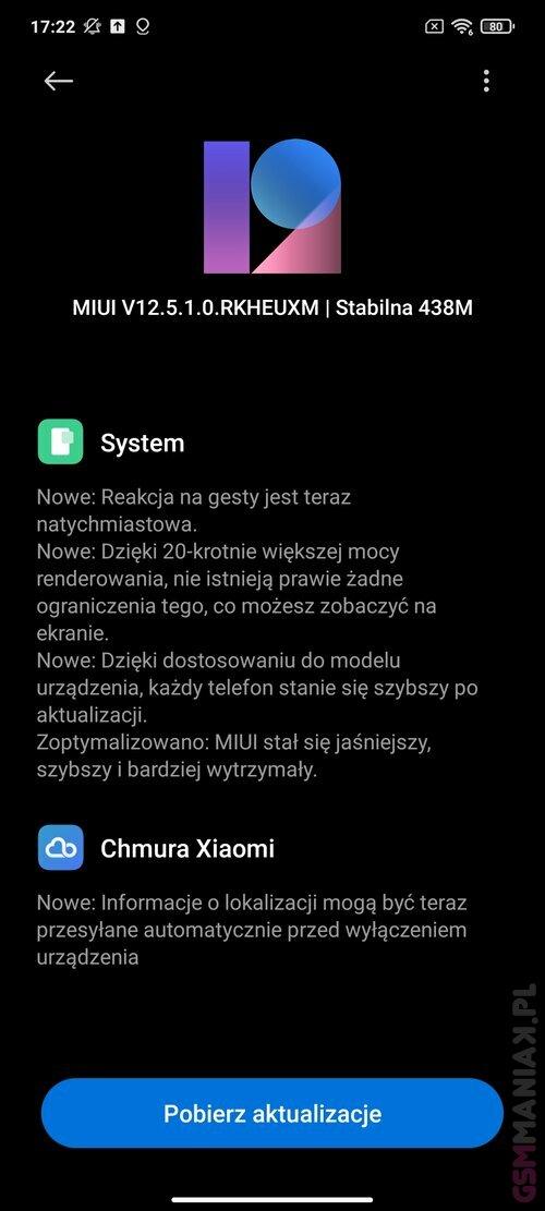 Xiaomi POCO F3 MIUI 12.5