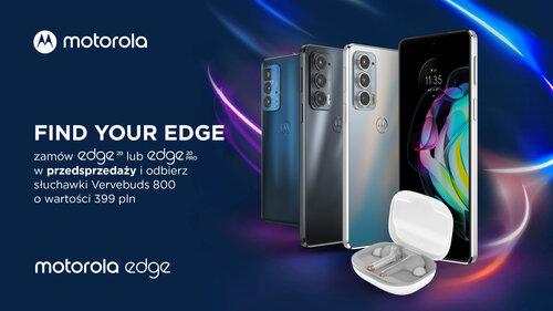 Przedsprzedaż Motorola Moto Edge 20 (Pro) w Polsce
