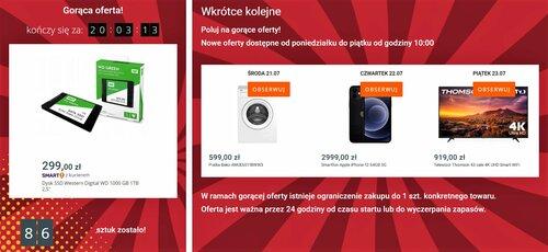 Zapowiedź promocyjnej ceny Apple iPhone 12 na Allegro