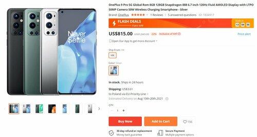 Promocyjna cena OnePlus 9 Pro