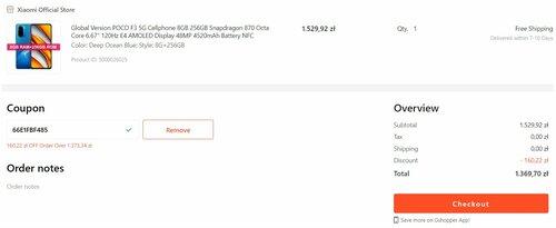Promocyjna cena Xiaomi POCO F3