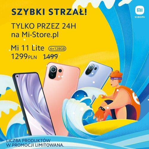 Promocyjna cena Xiaomi Mi 11 Lite