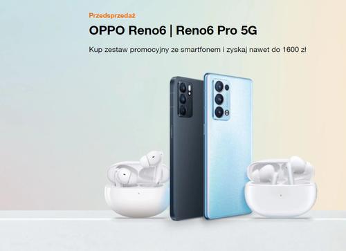 Przedsprzedaż OPPO Reno 6 i Reno 6 Pro w Orange