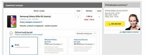 Samsung Galaxy A52s 5G w promocji