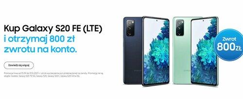 Samsung Galaxy S20 FE w promocji Samsung Premia
