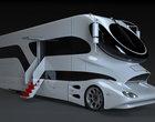 luksusowe samochody luksusowy kamper